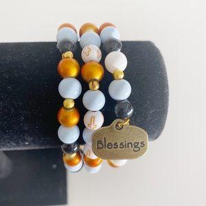 Faith Bracelet, Scripture Bracelet Gift for Women